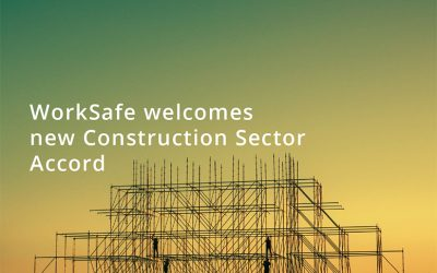 Worksafe's New initiative with Construction Industry